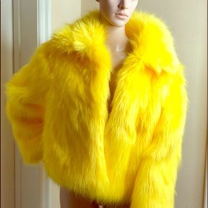 Forever 21 Jackets & Coats - Yelliw faux fur coat